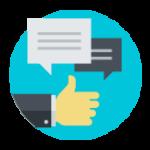 Dialog icon Marketing