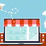 Online Marketing Agentur - Shop-Illustration