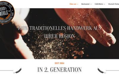 Bäckerei/Konditorei – Website WordPress